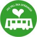 Jag vill åka spårvagn knapp_Malmö