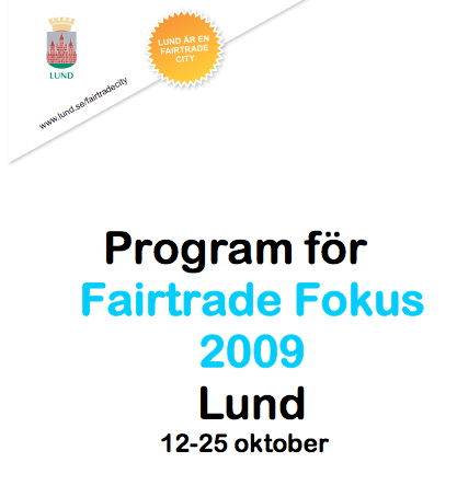 Fairtrade Fokus i Lund_okt 2009