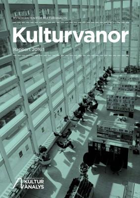 Kulturvanor Rapport 2016:1 (dragen)